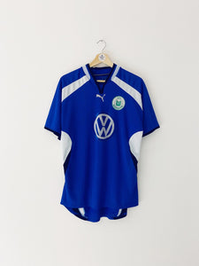 2000/01 Wolfsburg Away Shirt (M) 6.5/10