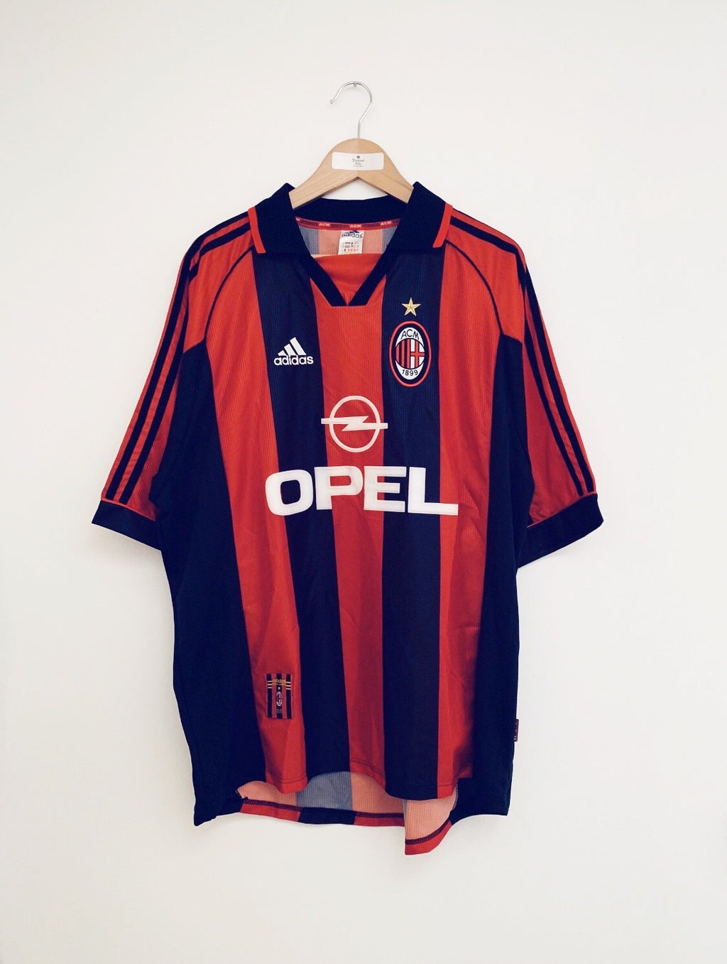 1998/00 AC Milan Home Shirt (XL) 9.5/10