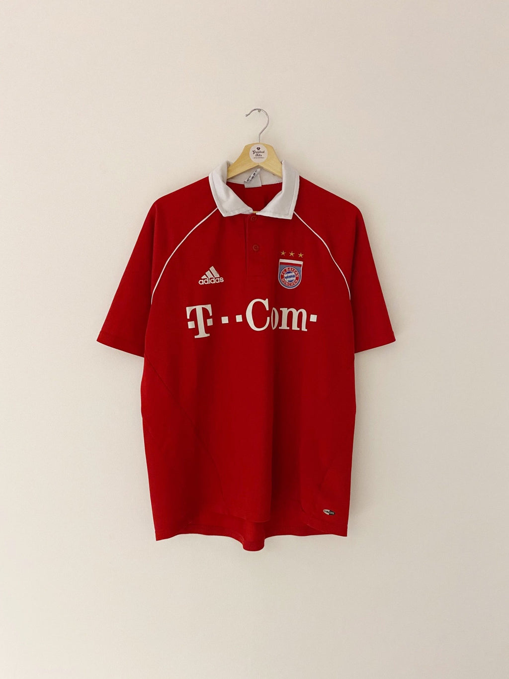 2005/06 Bayern Munich Home Shirt (M) 8.5/10