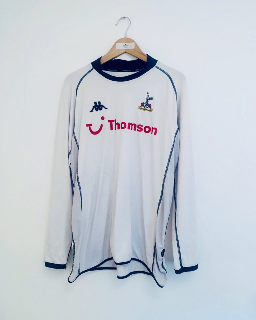 2002/04 Tottenham Home L/S Shirt (XL)