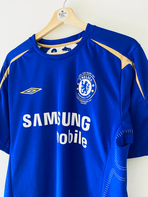 2005/06 Chelsea Centenary Home Shirt (M) 9/10