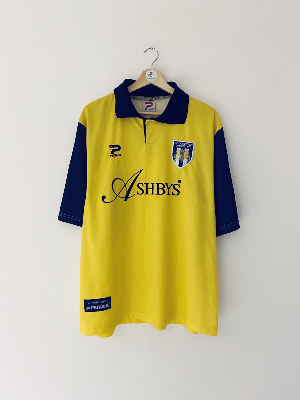 1997/98 Colchester Third Shirt (XL) 9/10