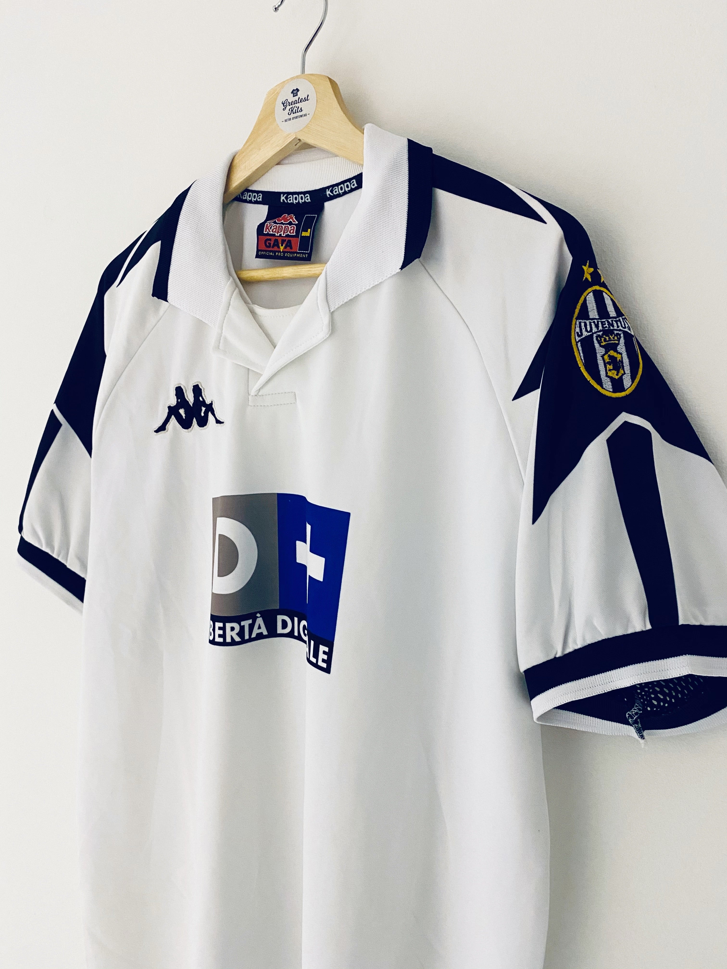 1998/99 Juventus Away Shirt (L) 8/10