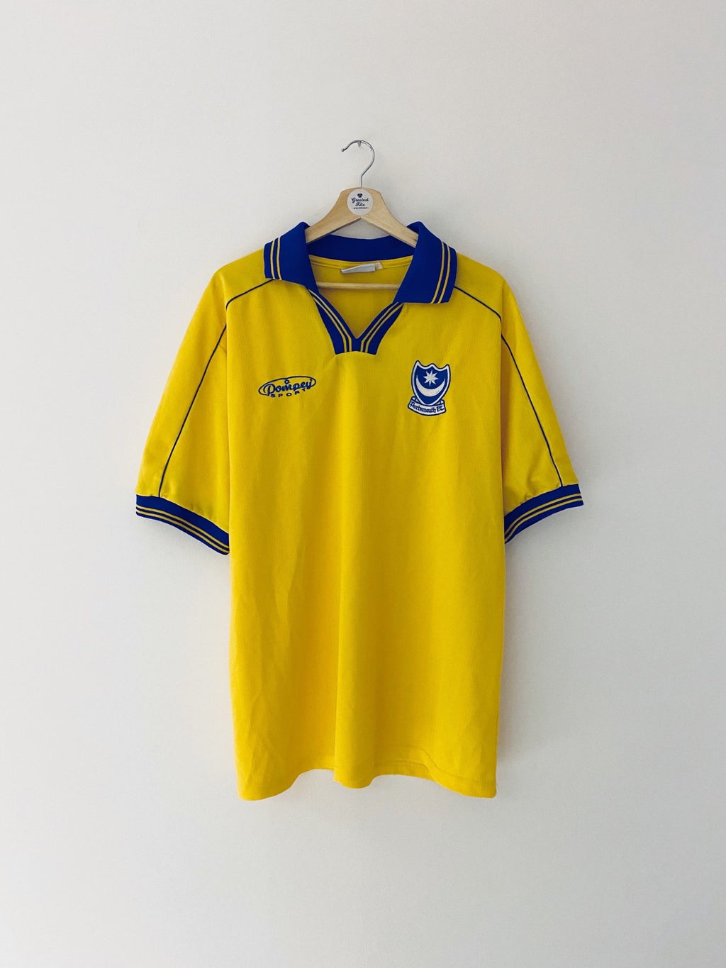 1999/00 Portsmouth Away Shirt (XXL) 9/10