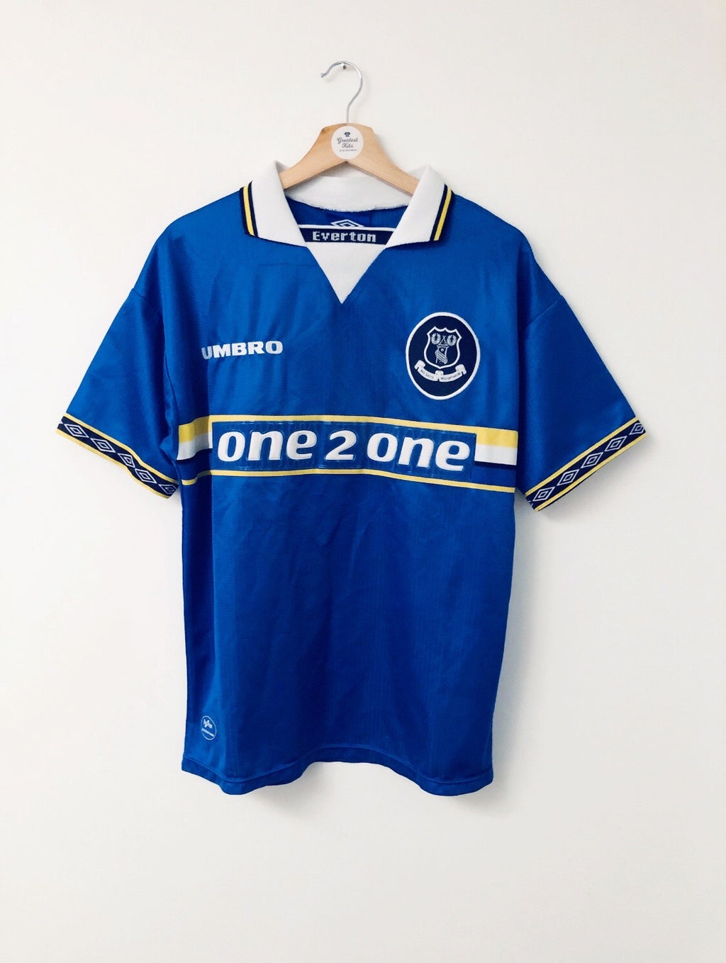 1997/99 Everton Home Shirt (M) 8/10