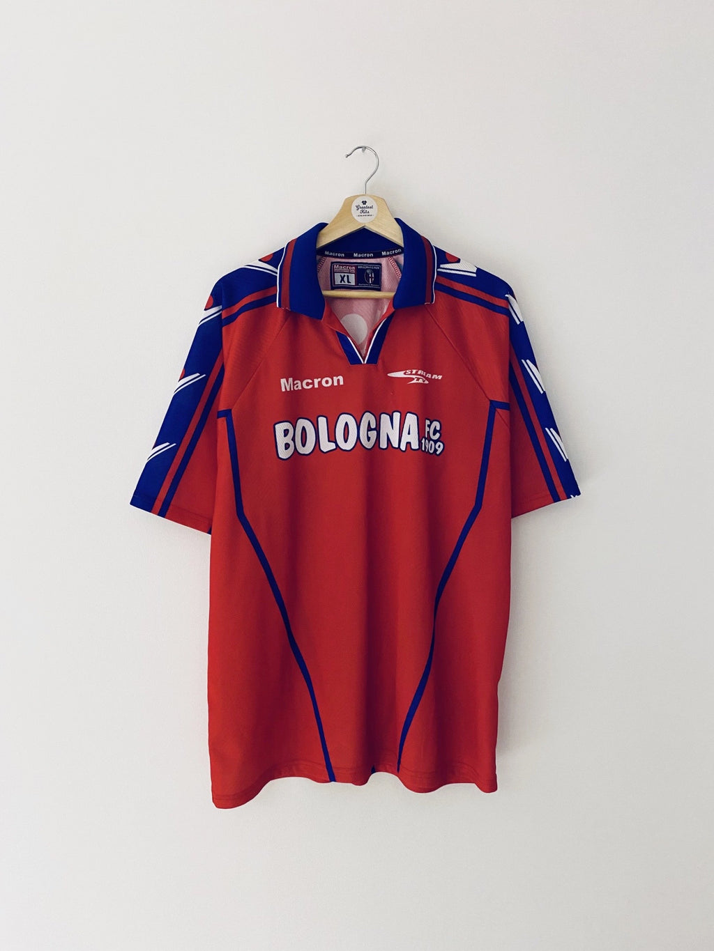 2002/03 Bologna Training Shirt (L) 7.5/10
