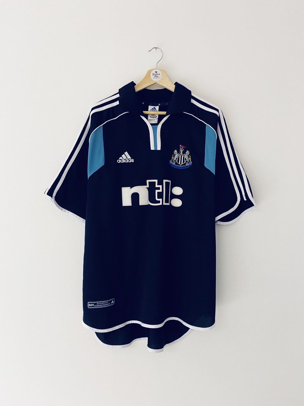 2000/01 Newcastle Away Shirt (XL) 9/10