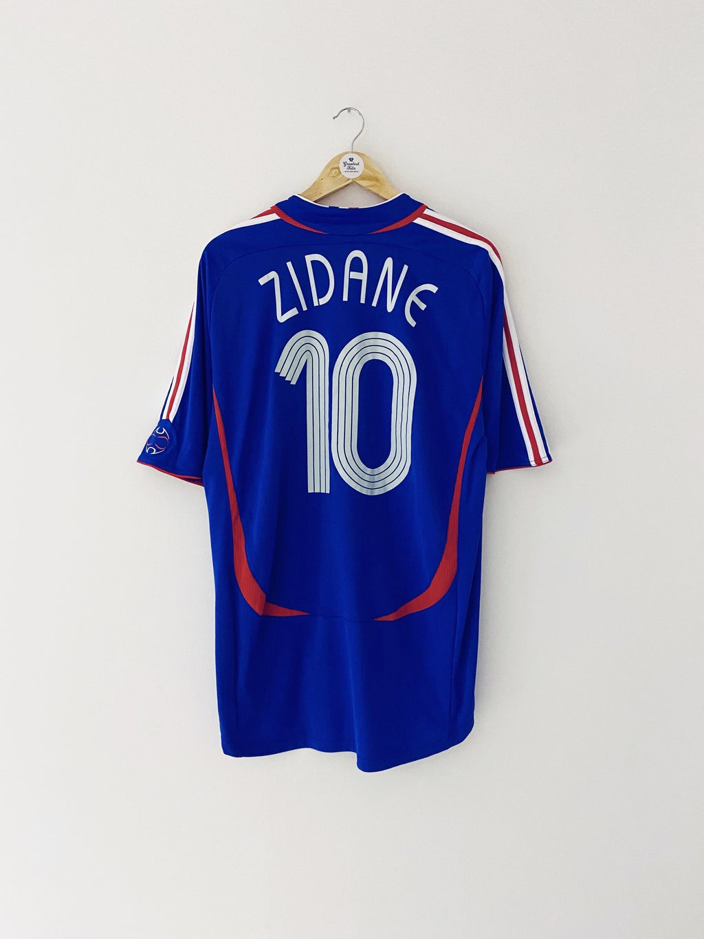 2006/07 France Home Shirt Zidane #10 (XL) 9/10