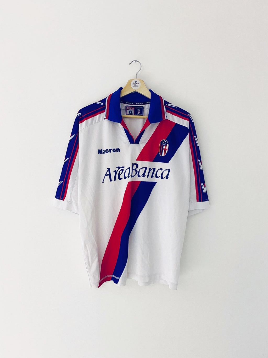 2002/03 Bologna Away Shirt (XL) 7/10