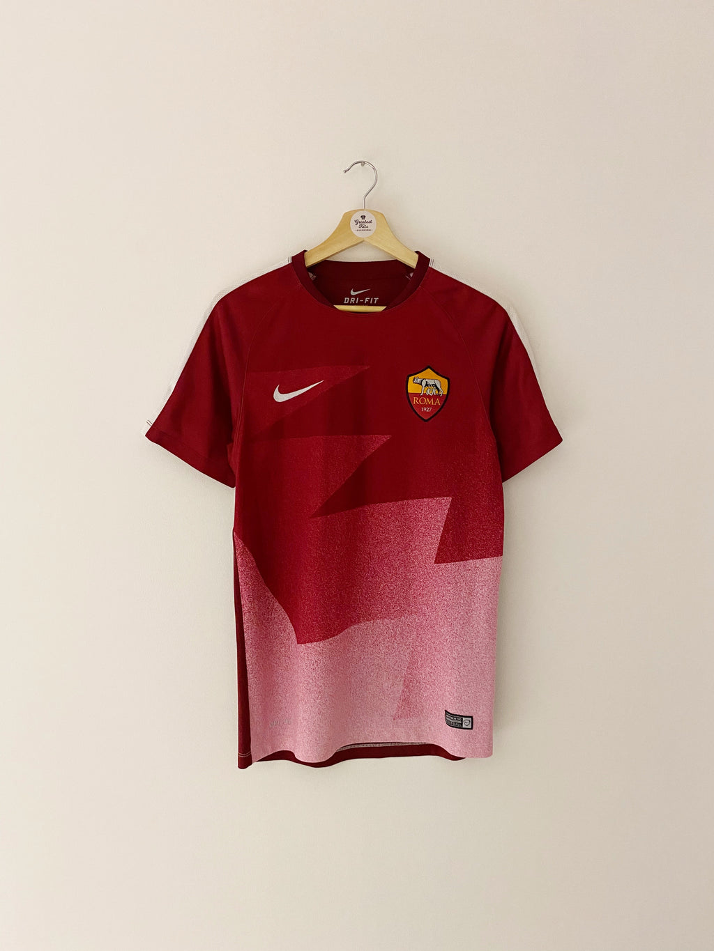 2015/16 Roma Pre-Match Training Shirt (S) 10/10