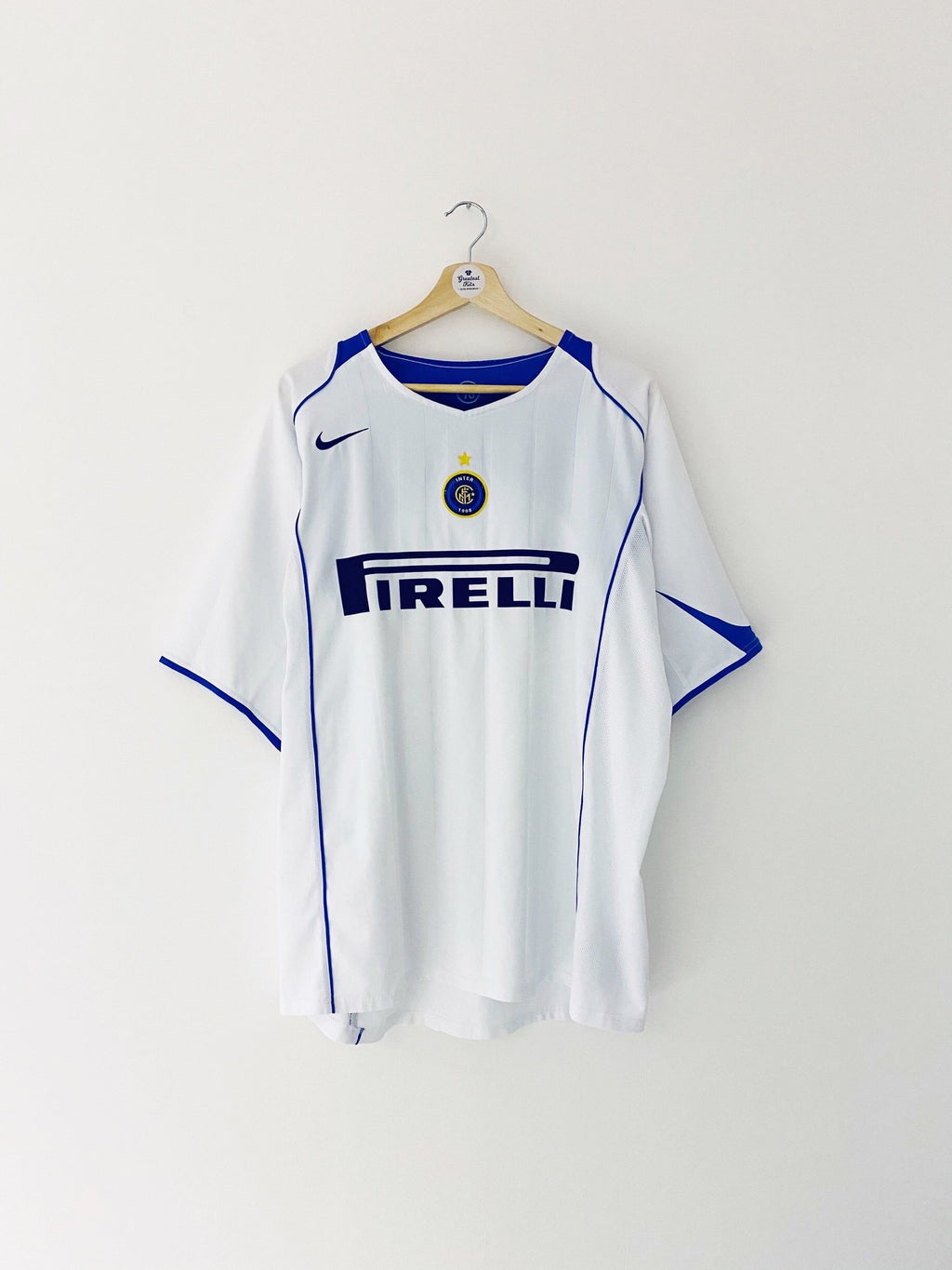 2004/05 Inter Milan Away Shirt (XL) 9/10