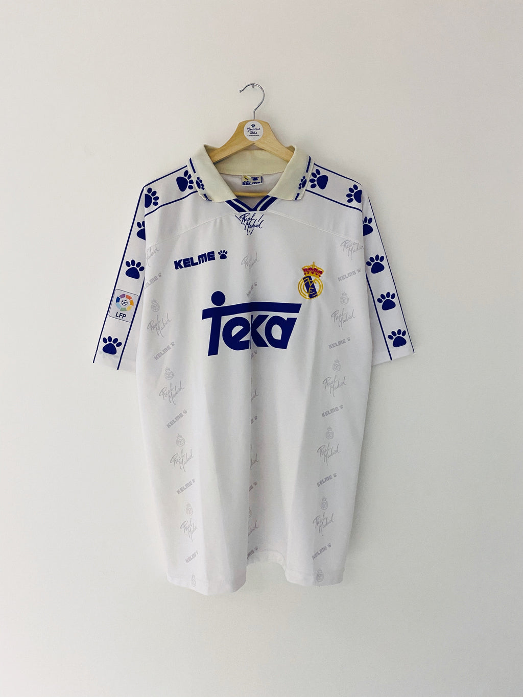 1994/96 Real Madrid Home Shirt (L) 7/10