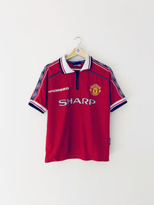 1998/00 Manchester United Home Shirt (Y) 8.5/10