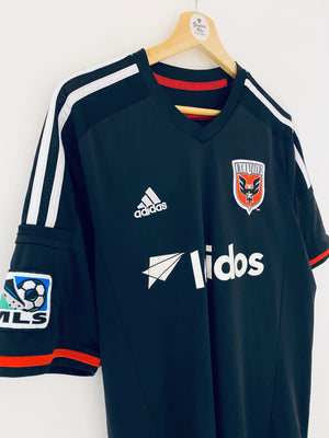 2014/15 DC United Home Shirt #33 (L) 9.5/10