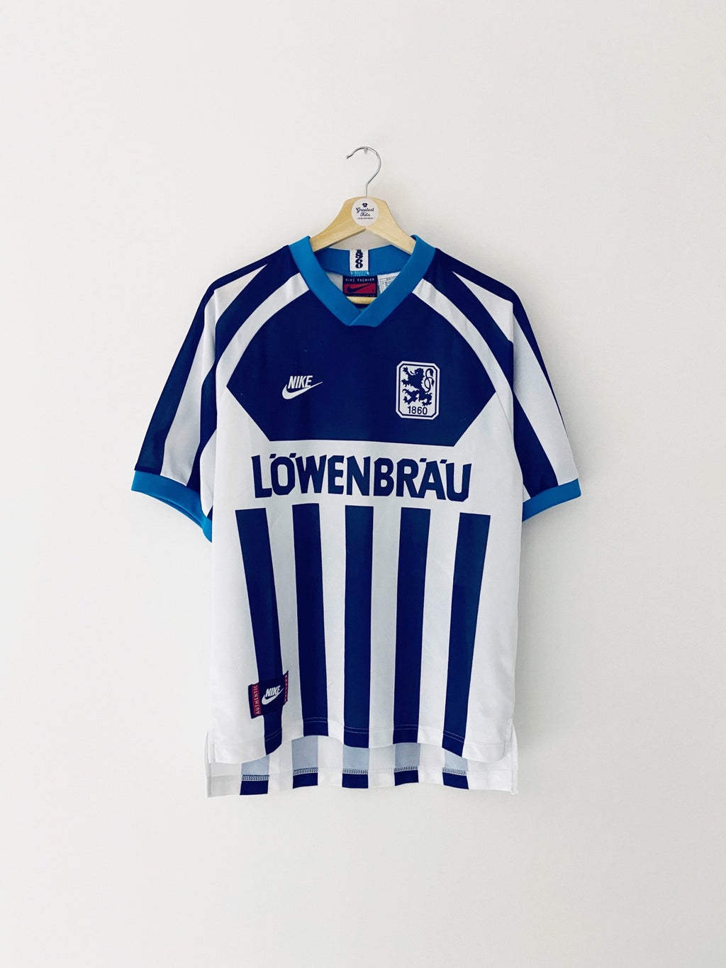 1995/96 1860 Munich Away Shirt (S) 7/10