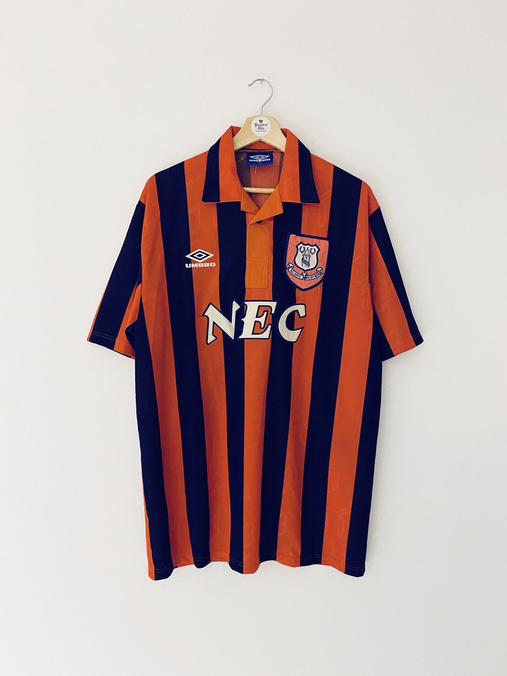 1992/94 Everton Away Shirt (XL) 8.5/10