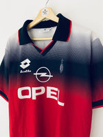 1995/96 AC Milan Training Shirt (L) 9/10