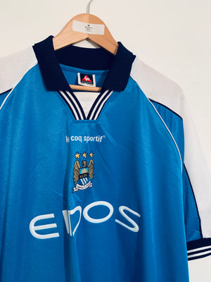 1999/01 Manchester City Home Shirt (XXL)
