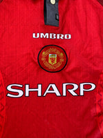 1996/98 Manchester United Home Shirt (L)