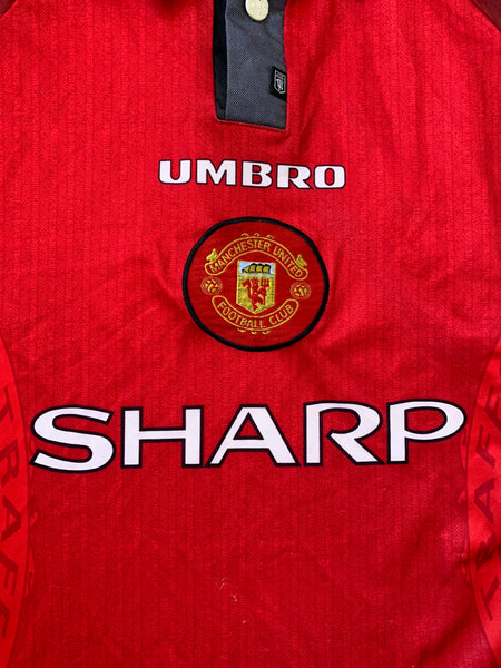 5c81df78178 1996 98 Manchester United Home Shirt (L) – Greatest Kits