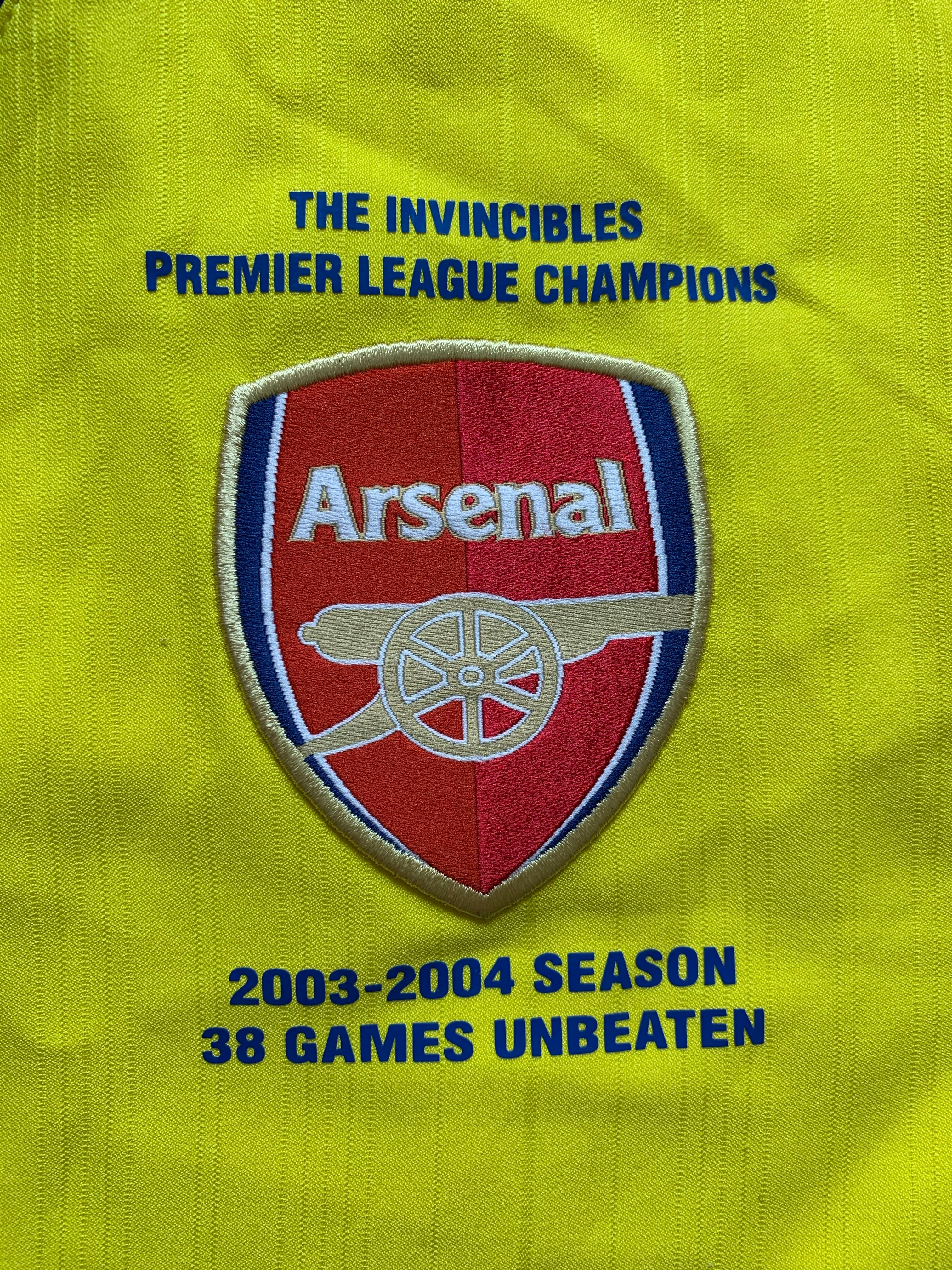 2004/05 Arsenal *Invincibles* Third Shirt (L) 9/10