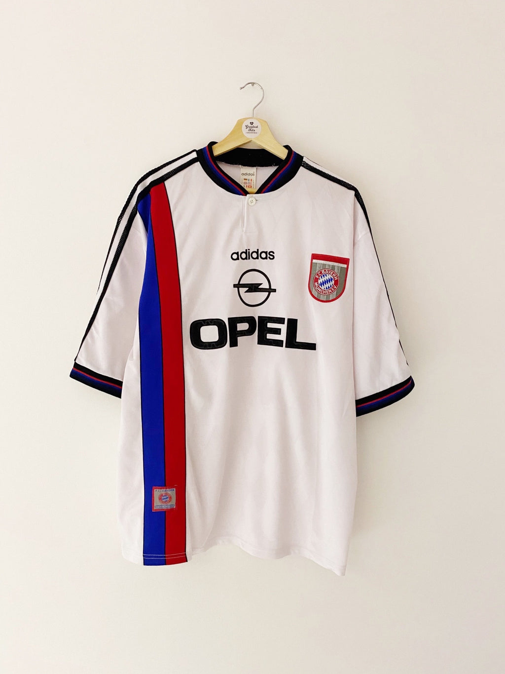 1995/97 Bayern Munich Away Shirt (XL) 6.5/10