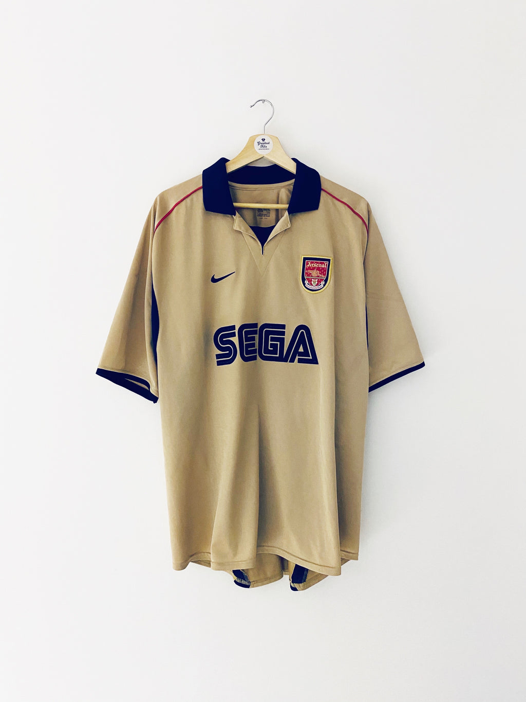 2001/02 Arsenal Away Shirt (XXL) 9/10
