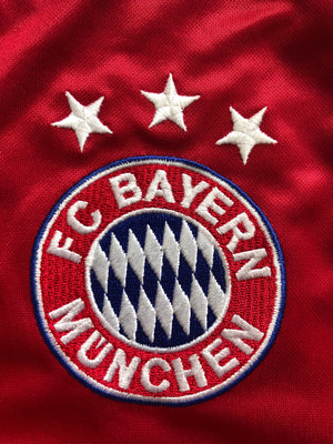 2004/05 Bayern Munich *Player Issue* Home L/S Shirt Ballack #13 (XL) 8/10