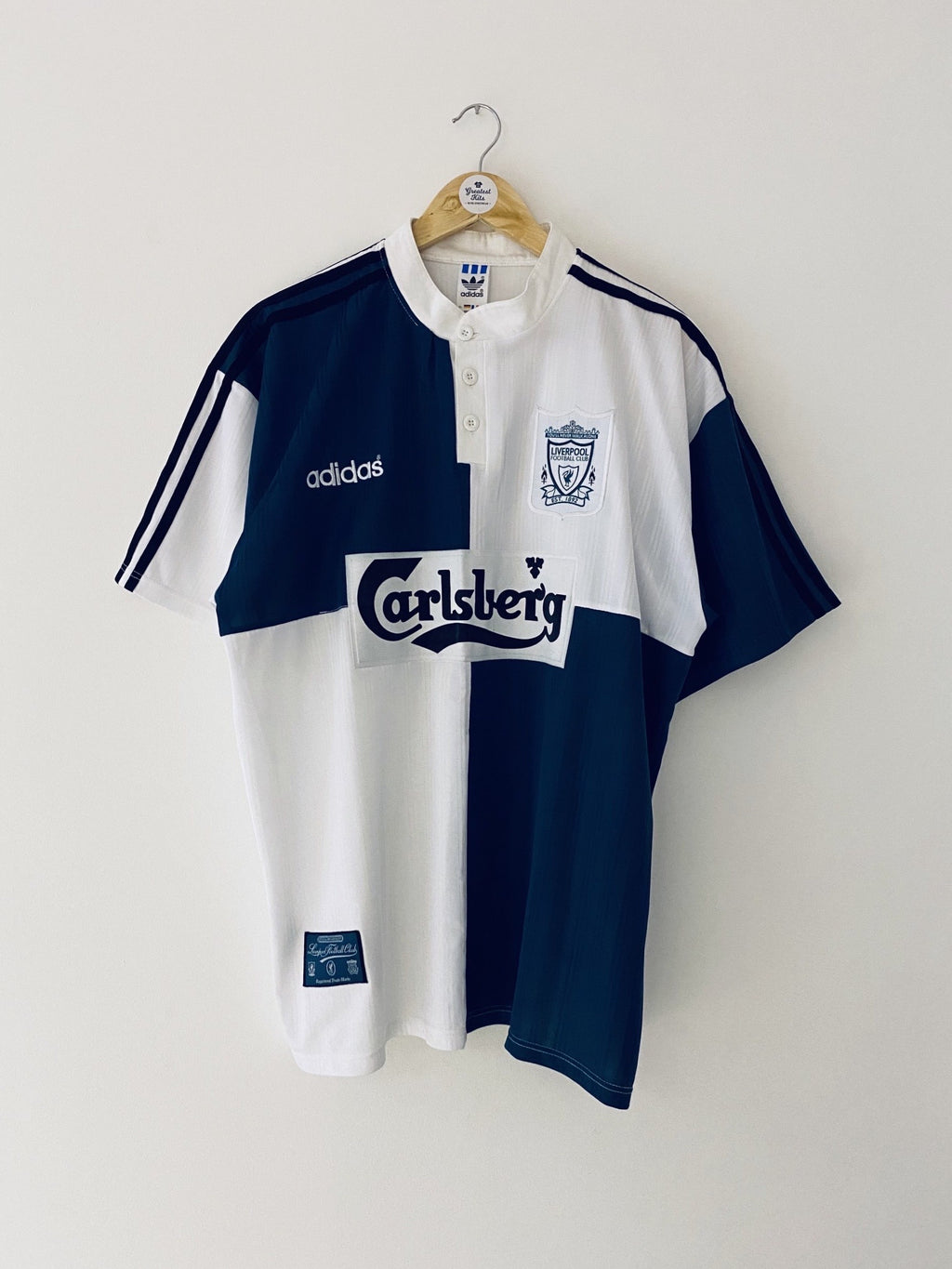 1995/96 Liverpool Away Shirt (XL) 9/10