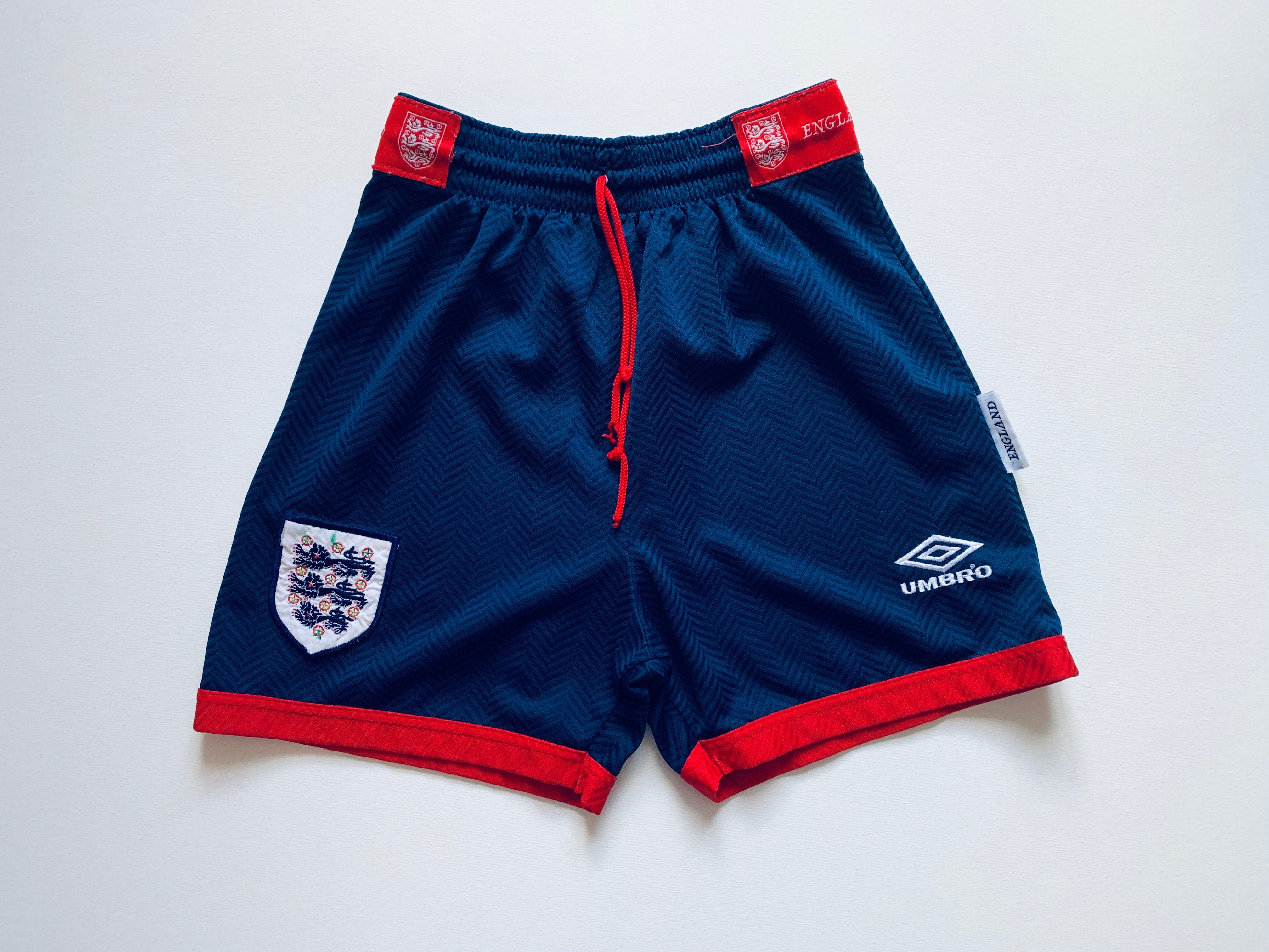1993/94 England Home Shorts (S)