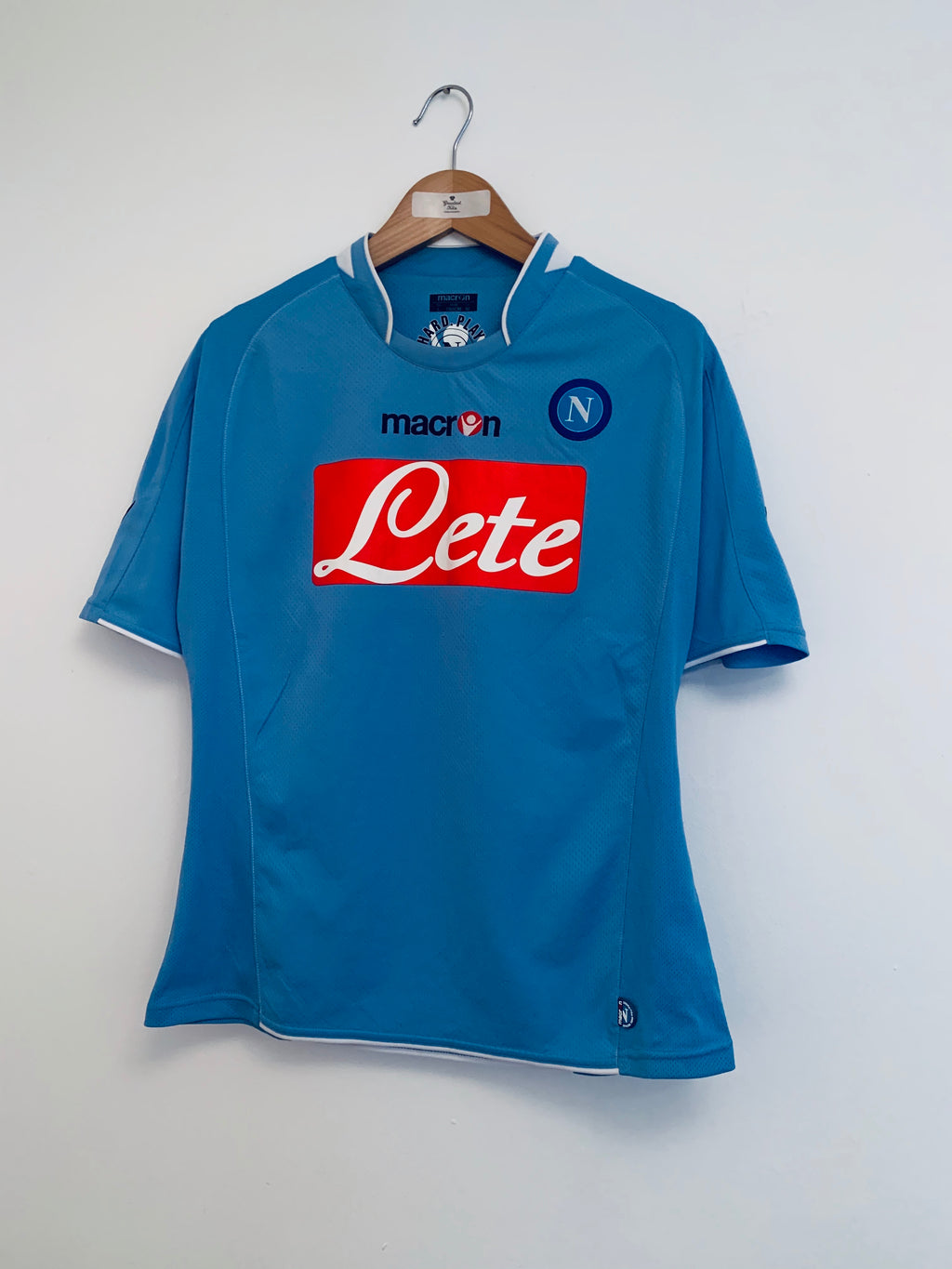 2009/10 Napoli Home Shirt (M) 9.5/10