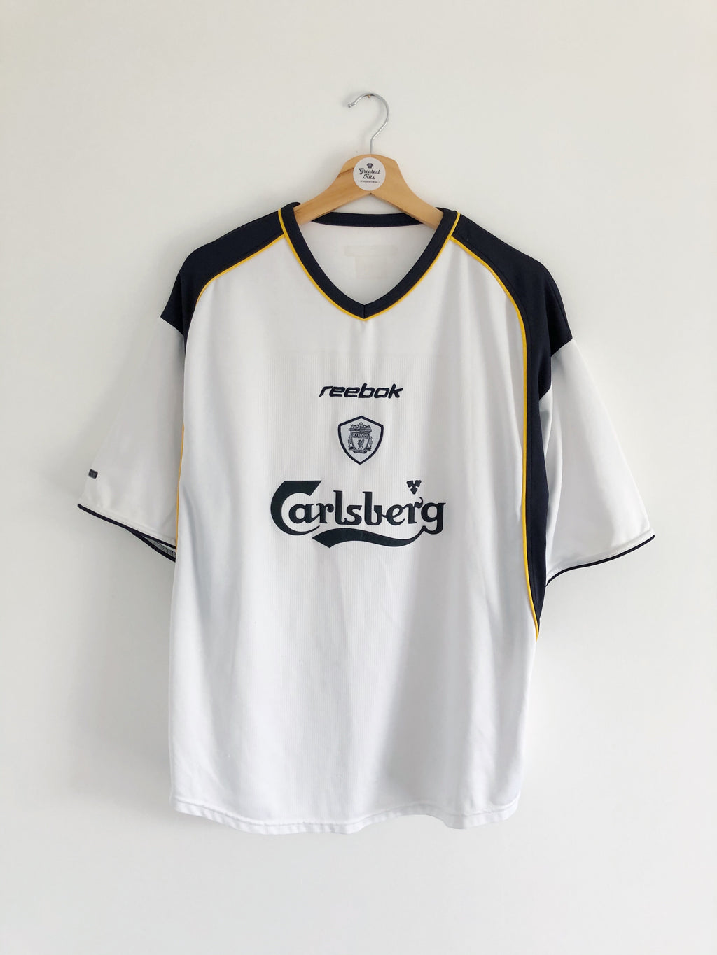 2001/03 Liverpool Away Shirt (L) 7.5/10