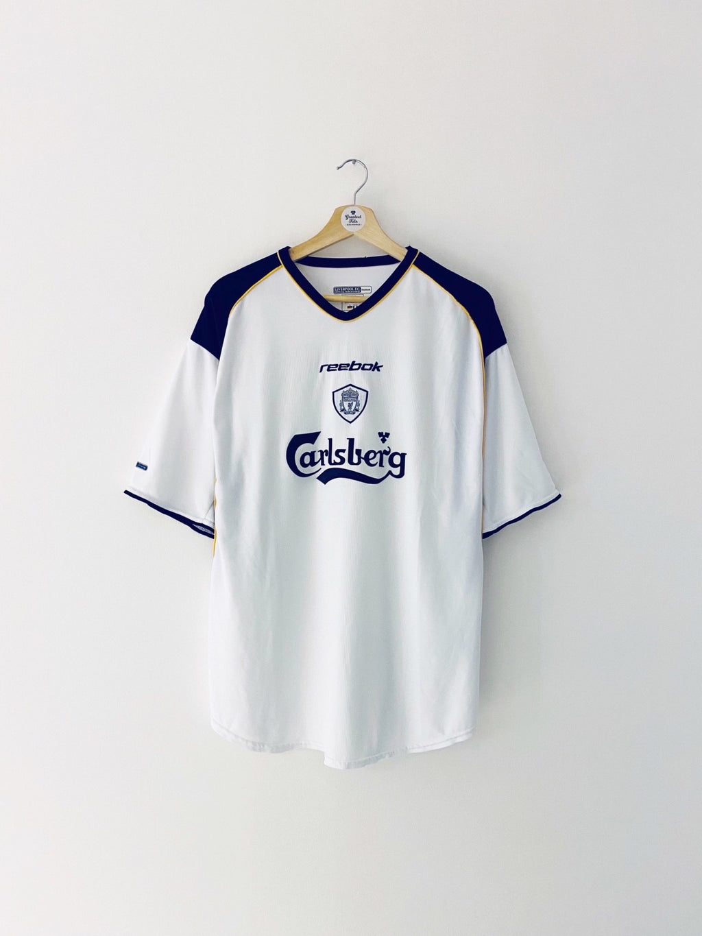2001/03 Liverpool Away Shirt (XL) 8.5/10