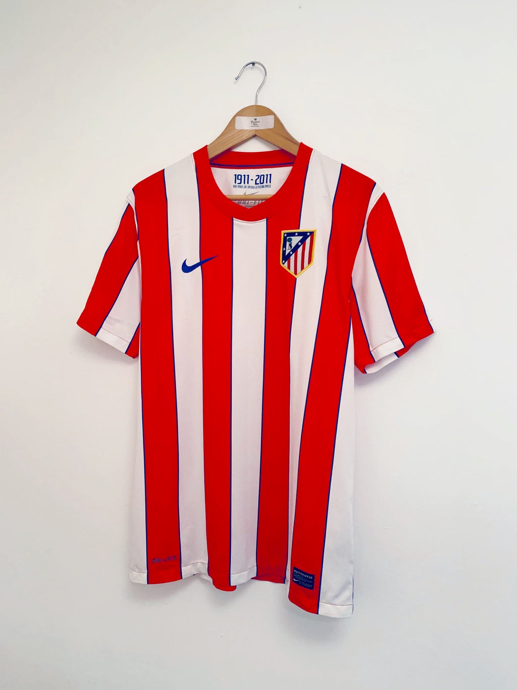 2011/12 Atletico Madrid Home Shirt (M) 9.5/10