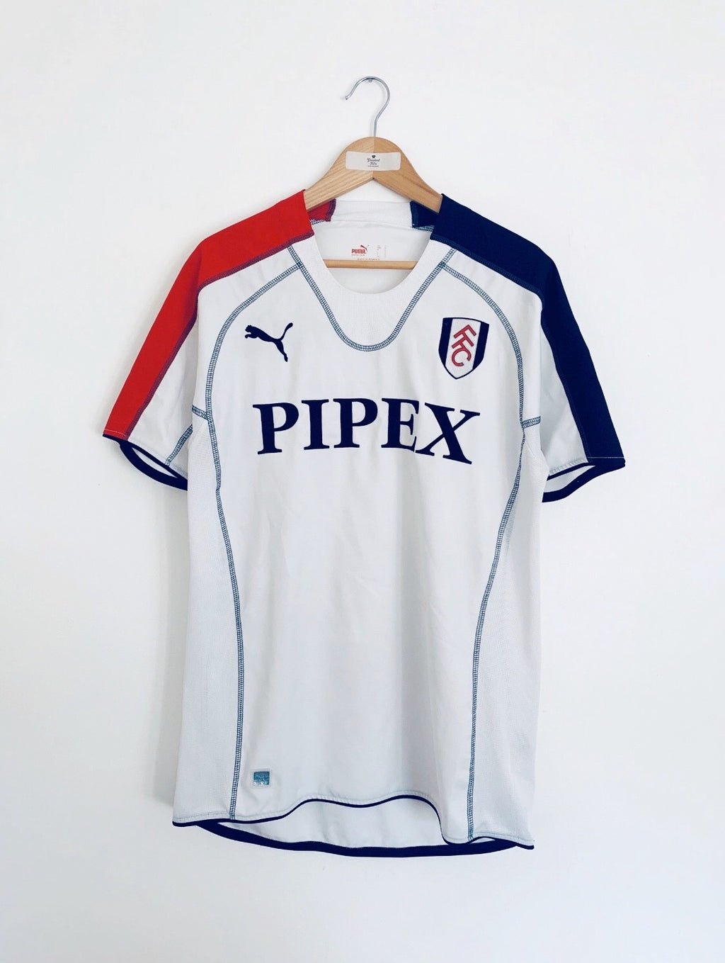 2005/06 Fulham Home Shirt (L) 9/10