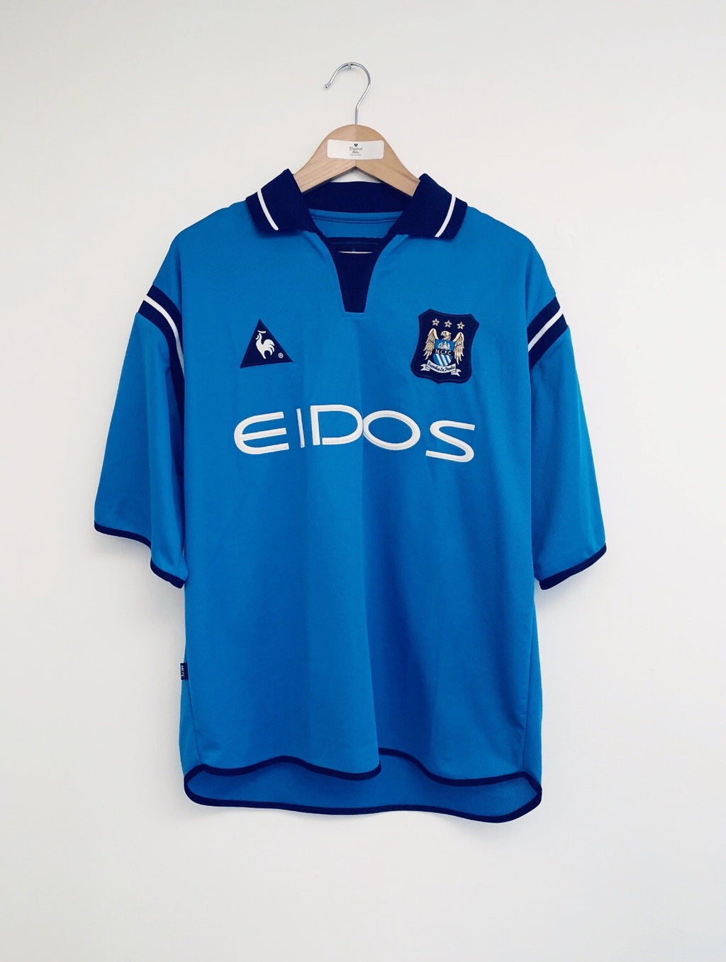 2001/02 Manchester City Home Shirt (M) 10/10