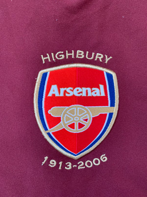 2005/06 Arsenal Home Shirt (XL)