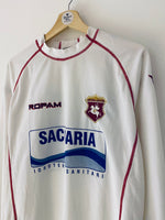 2001/02 Ancona *Player Issue* Away L/S Shirt #14 (XL) 9/10