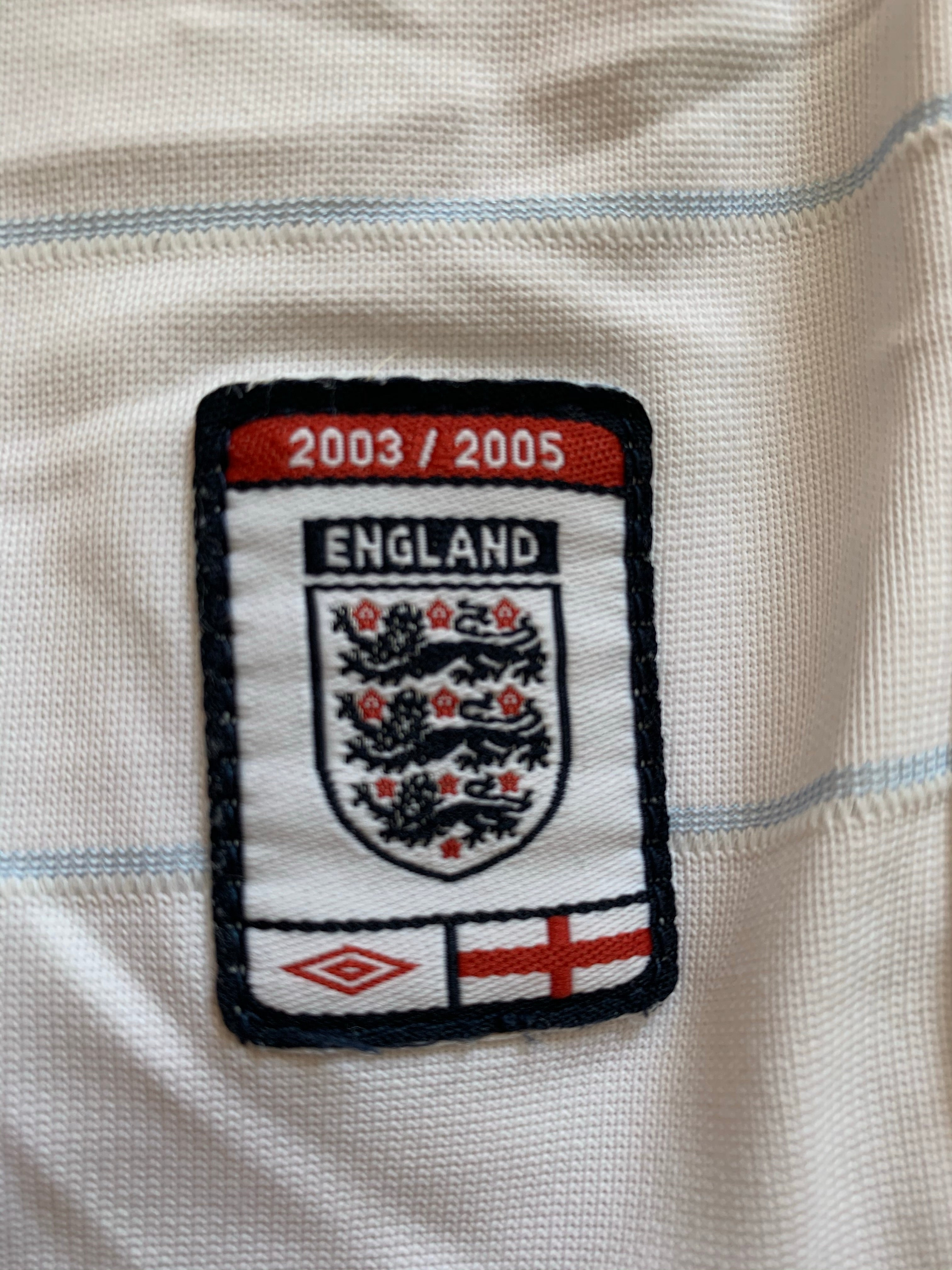 2003/05 England Home Shirt (XXL) 9/10
