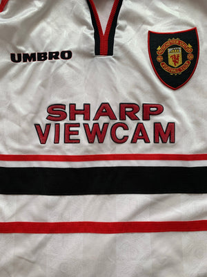 1997/99 Manchester United Away Shirt (L) 9/10
