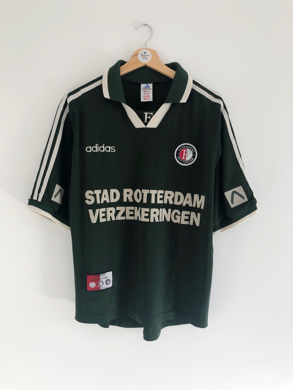1997/98 Feyenoord Away Shirt (M) 9/10