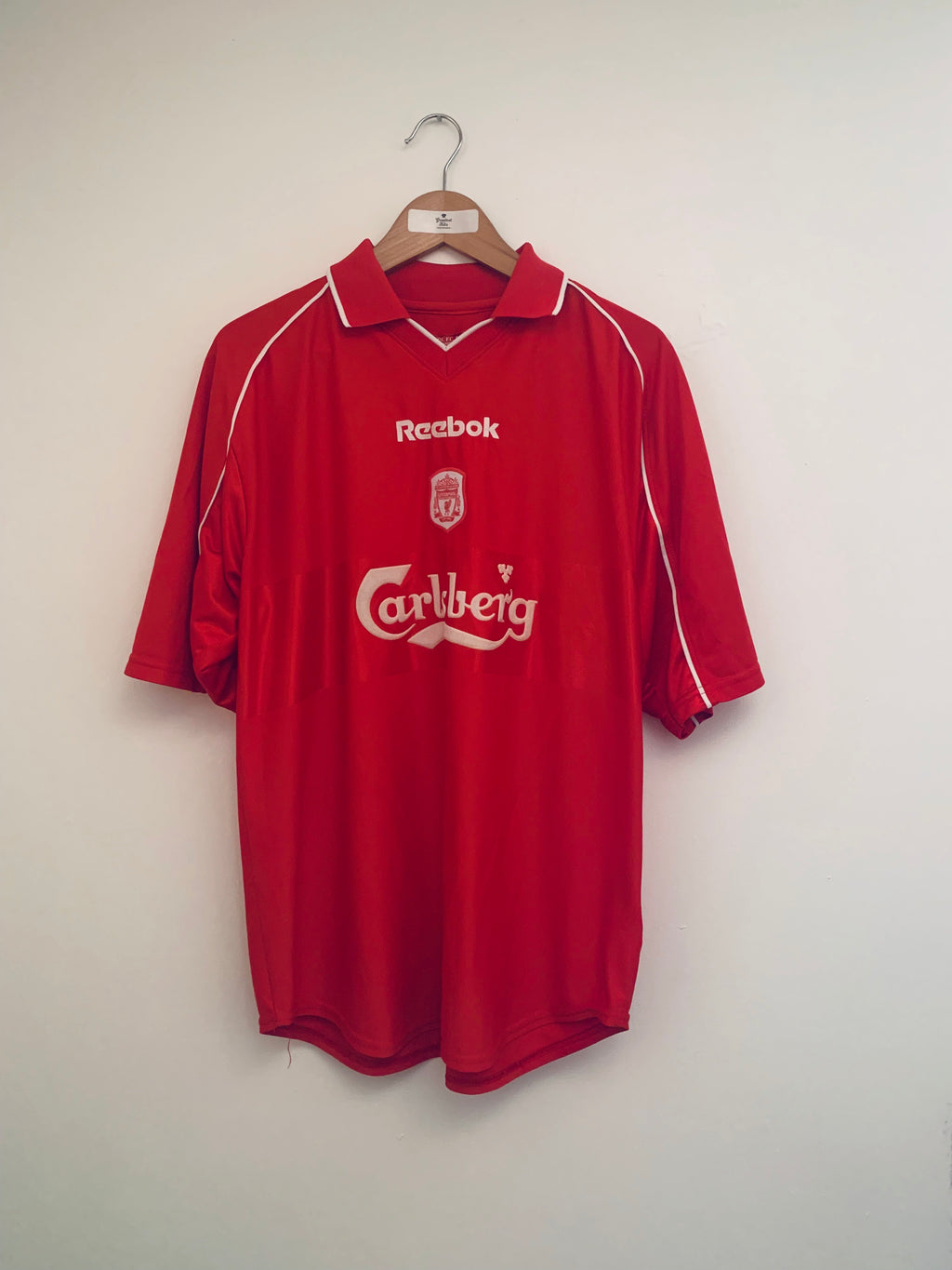 2000/02 Liverpool Home Shirt (L) 9/10