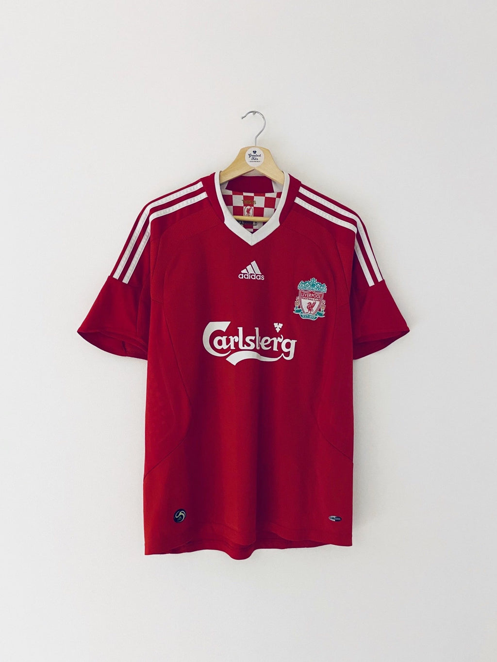2008/10 Liverpool Home Shirt (S) 9/10