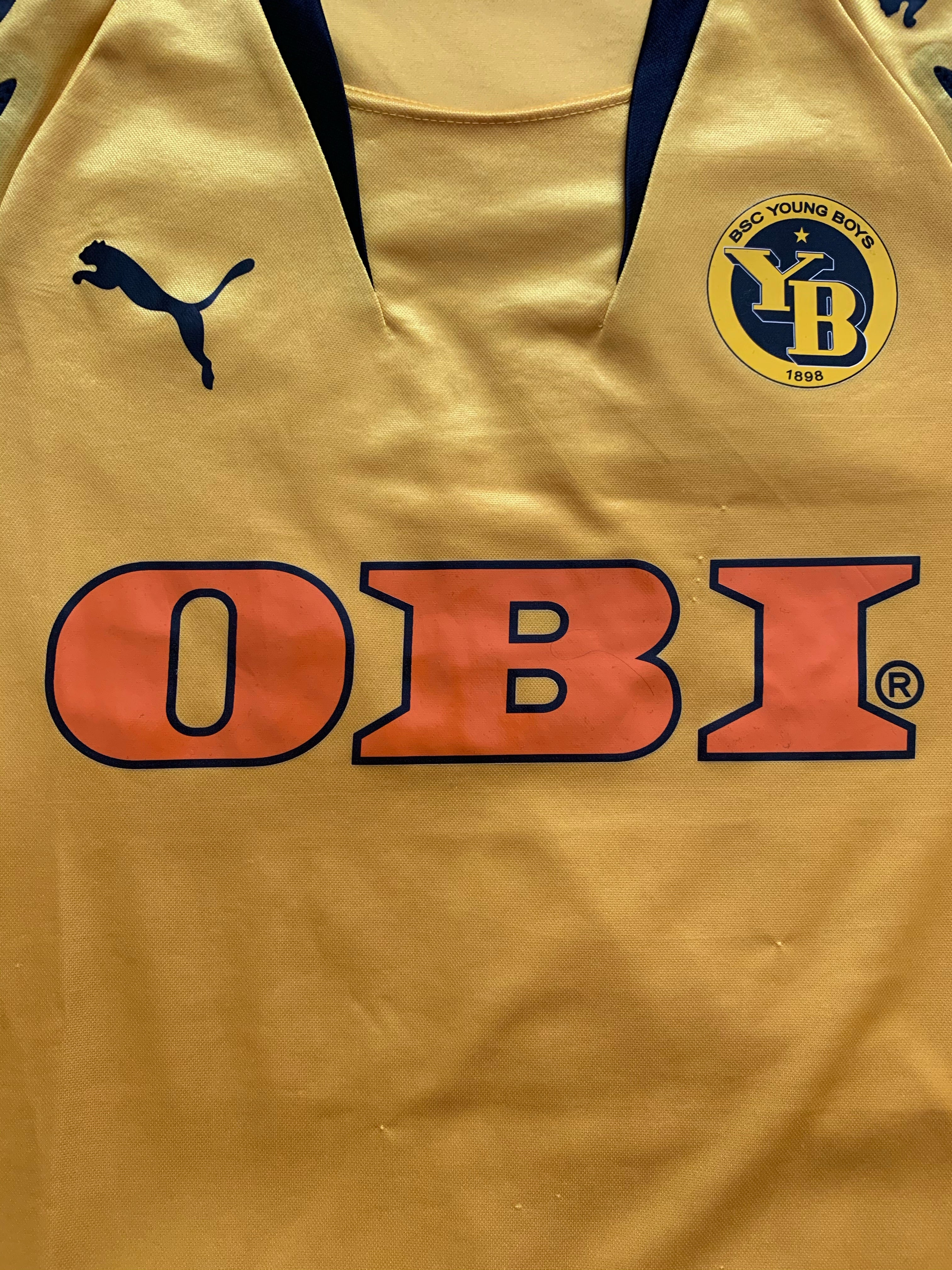 2007/08 BSC Young Boys Home Shirt (L) 7.5/10