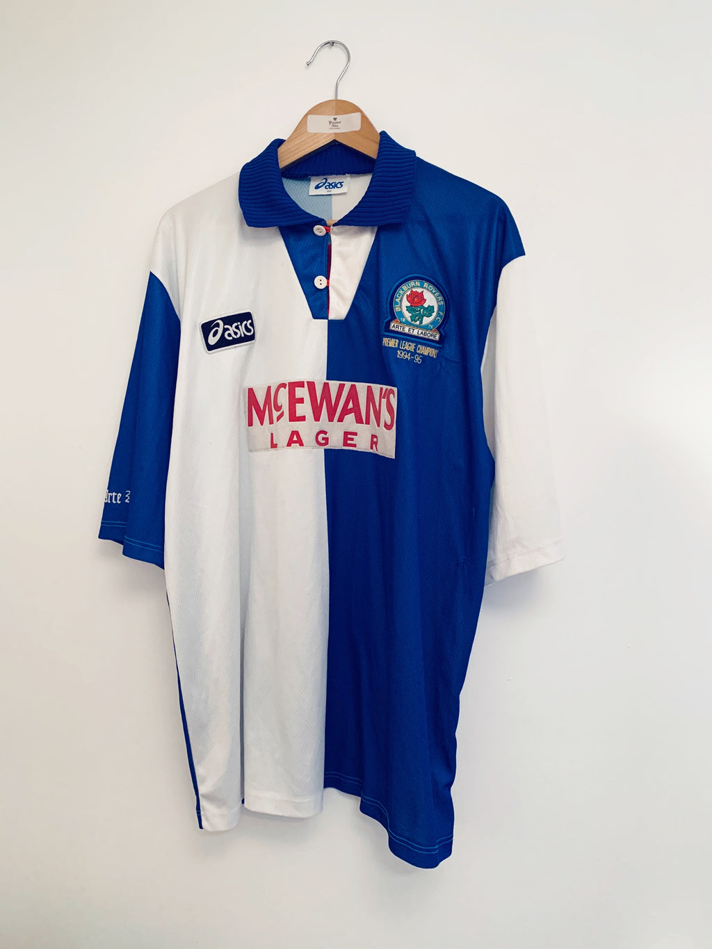 1995/96 Blackburn Home Shirt (XXL) 6/10