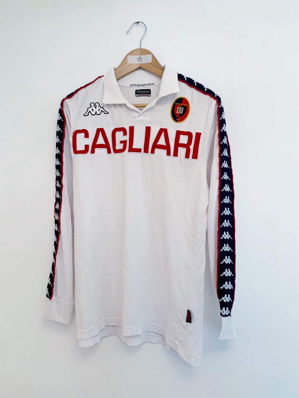 2013/14 Cagliari *Player Issue* Training L/S Shirt (L) 9/10
