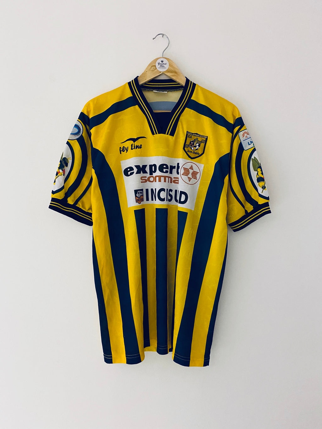 2003/04 Juve Stabia *Match Issue* Home Shirt #6 (XL) 9/10