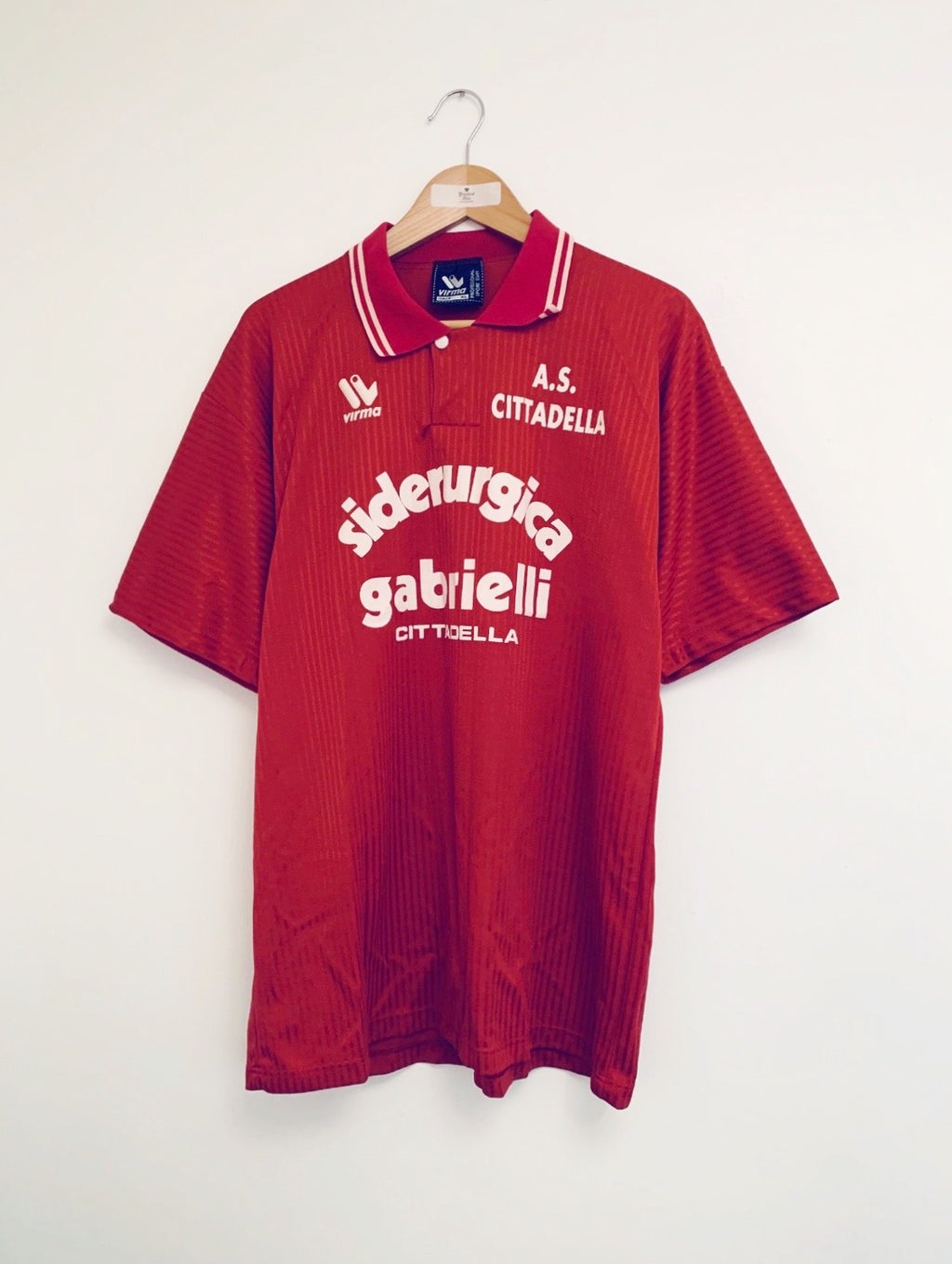 1990/91 AS Cittadella Home Shirt (L) 9/10