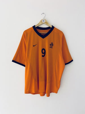 2000/02 Holland Home Shirt Kluivert #9 (XL) 9/10