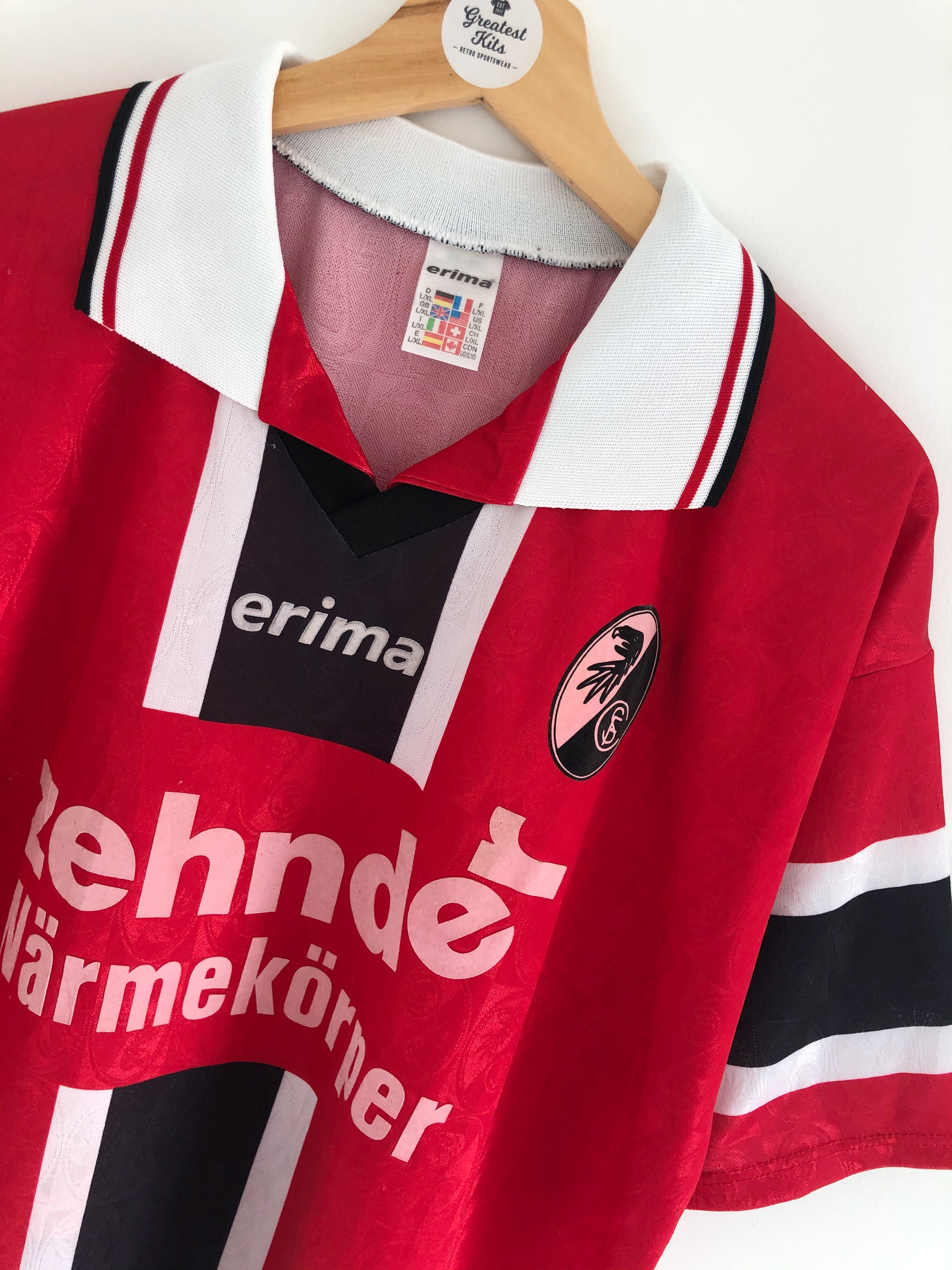1997/98 Freiburg Home Shirt (L/XL) 8.5/10